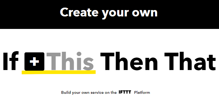 How to Send an Email With ESP8266 and IFTTT - Creating Account Step 2
