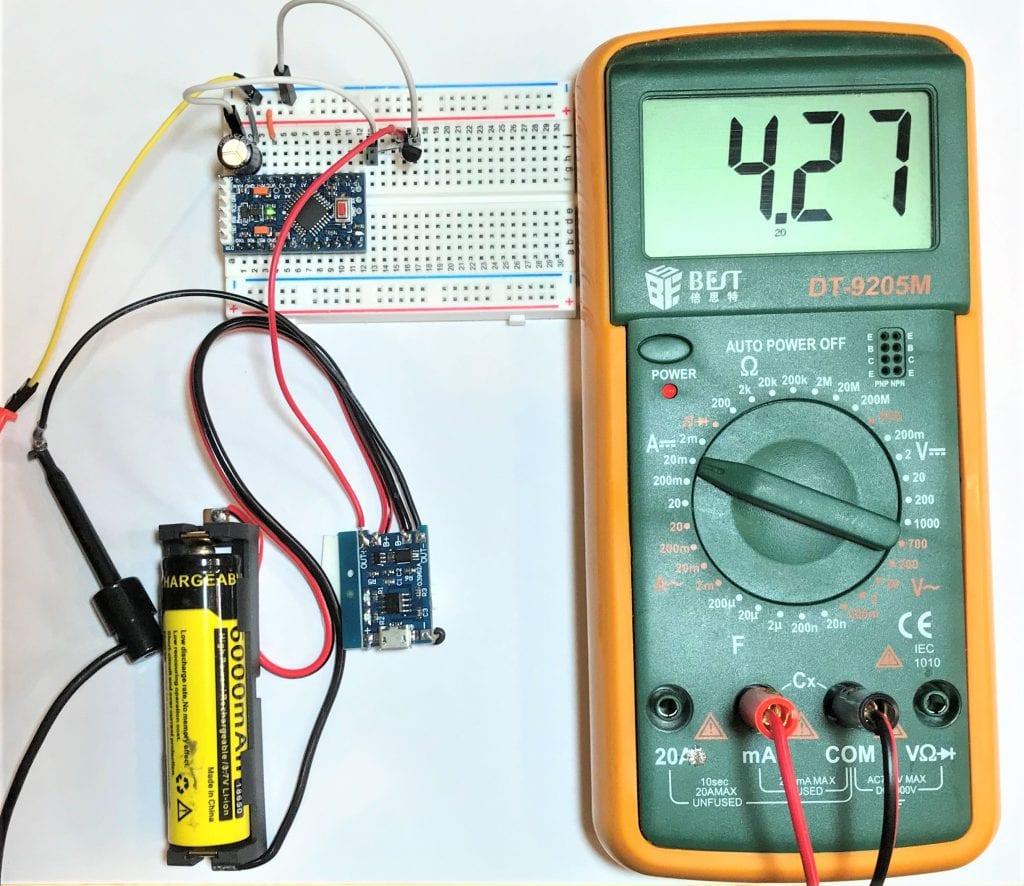 Como usar painéis solares para alimentar o Arduino 17