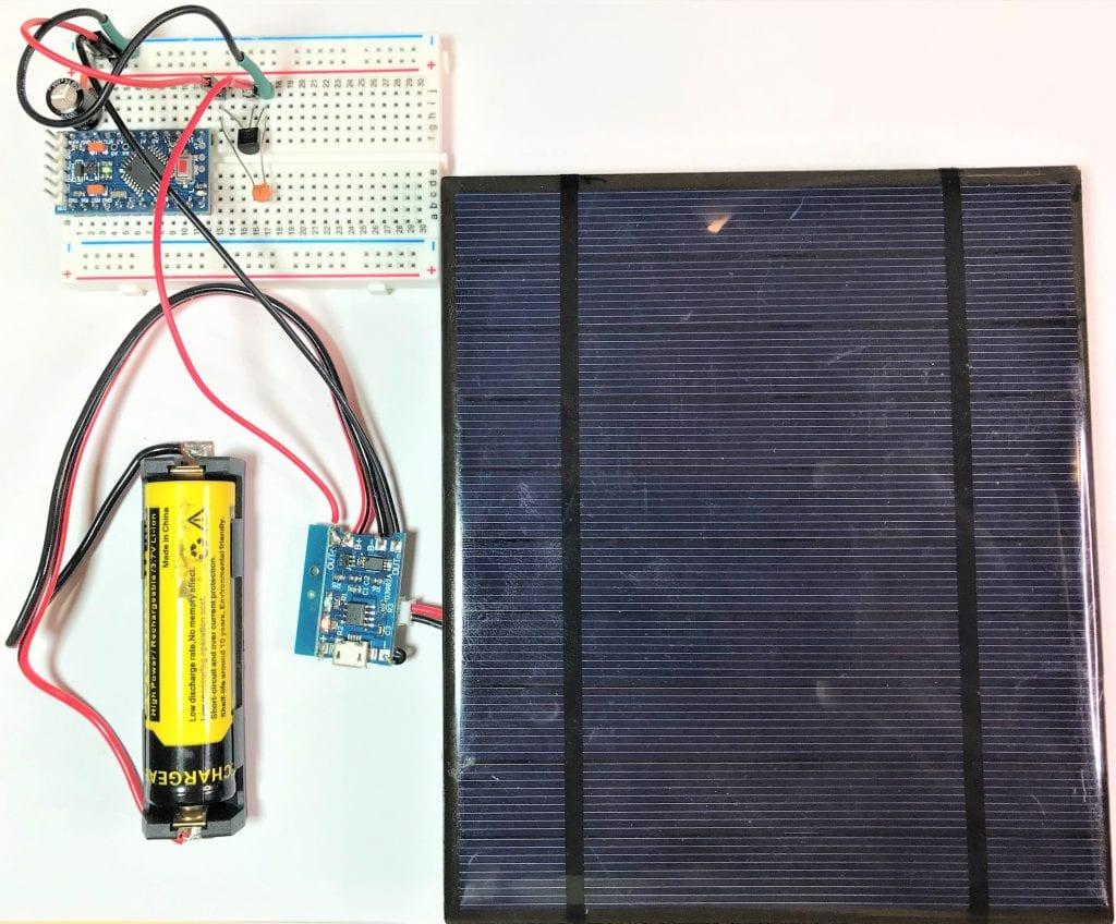 Como usar painéis solares para alimentar o Arduino 23