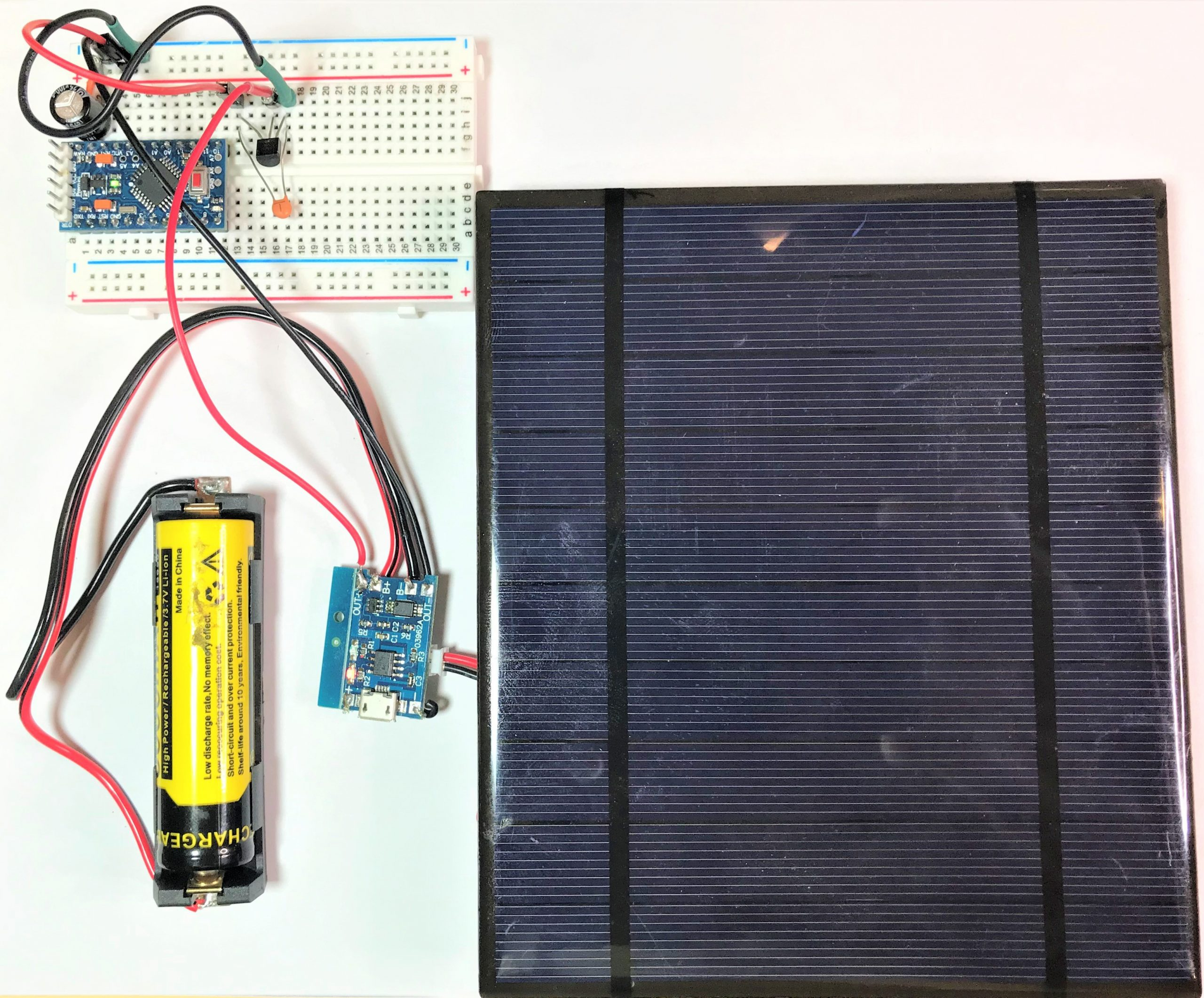 How to Use Solar Panels to Power the Arduino
