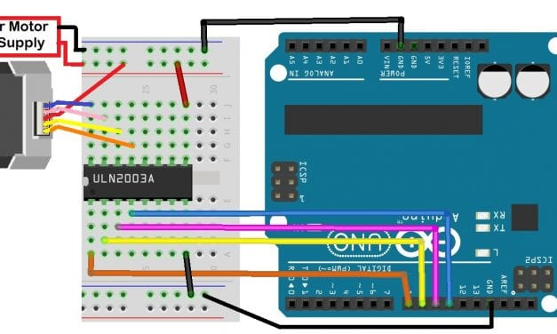 How to Control Stepper Motors With an Arduino and a ULN2003 Stepper Motor Driver