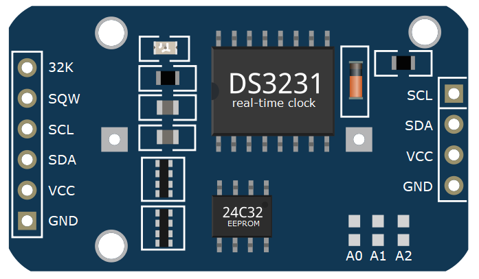 DS3231-real-time-clock-module