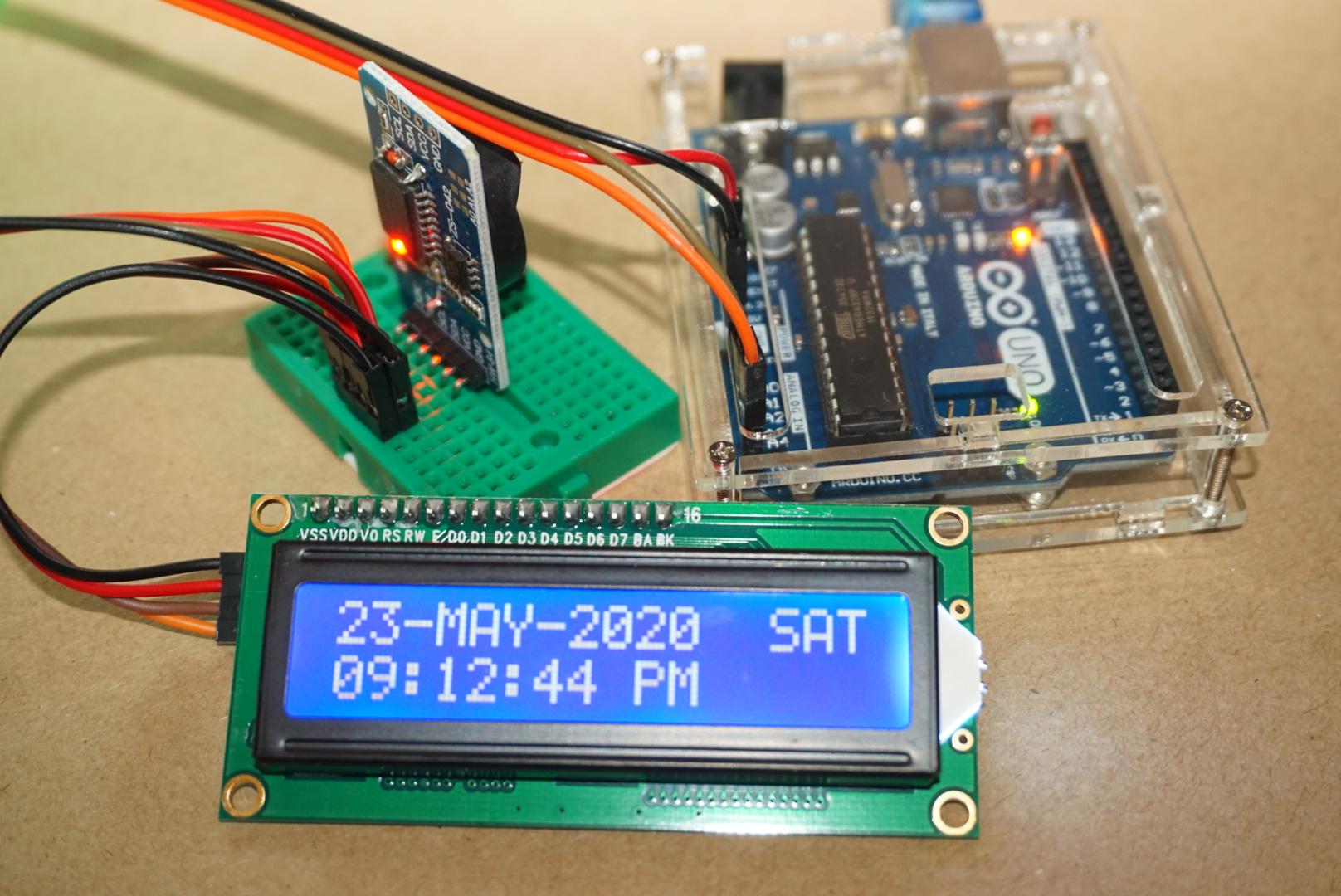 How to Use a Real-time Clock Module with the Arduino