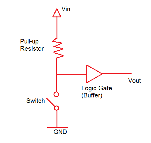 Resistores de pull-up e pull-down - Informações básicas sobre circuitos 1