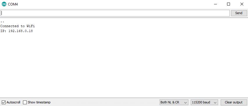 How to Show Arduino Sensor Data on a Webpage 11