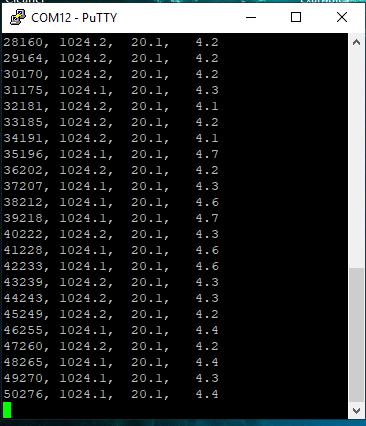 Registrando dados do Arduino em arquivos em um computador 27