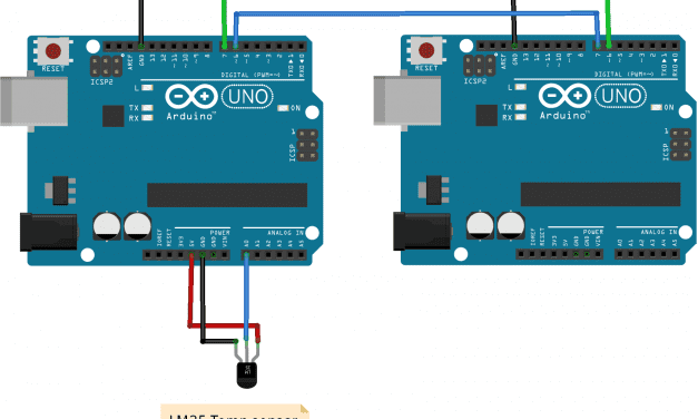 Wired Communication Between Two Arduinos