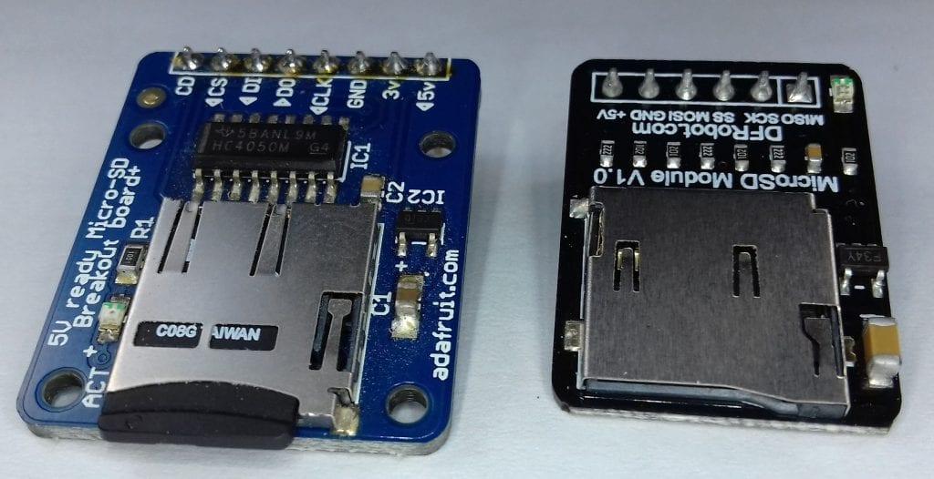 Como gravar dados do Arduino em arquivos em um cartão SD 1