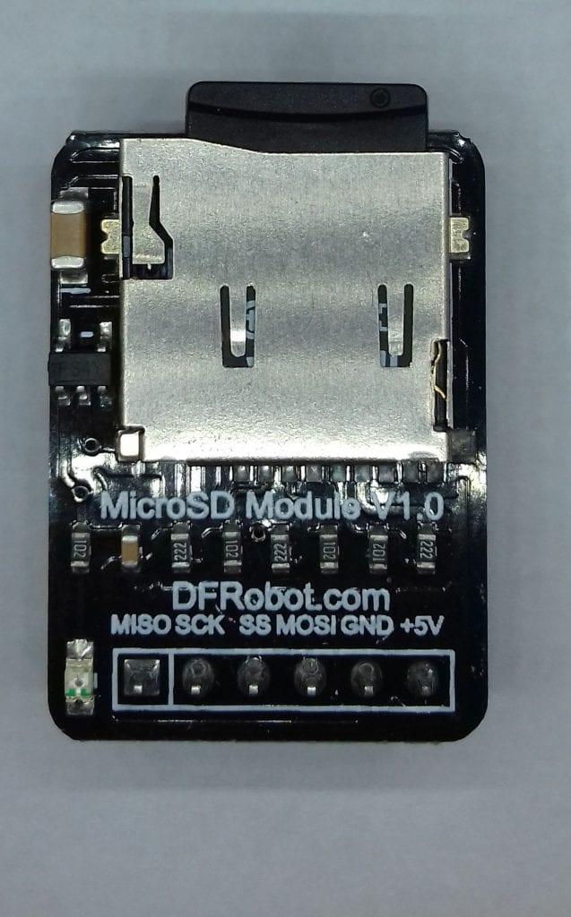 Como gravar dados do Arduino em arquivos em um cartão SD 3