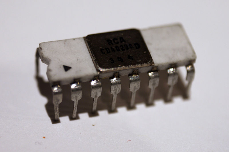 Old IC 4029 - Counter IC