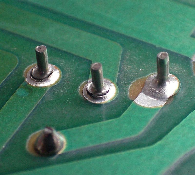 Bad solder joint
