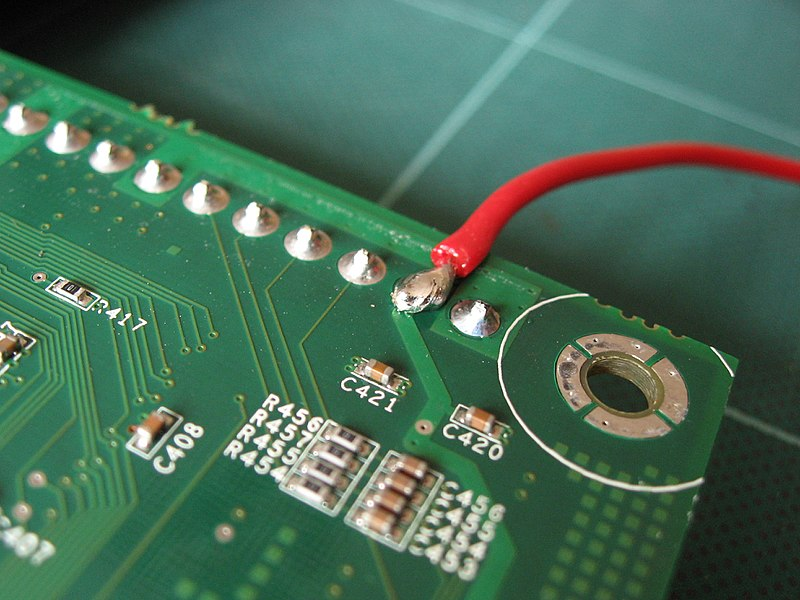Good solder joint