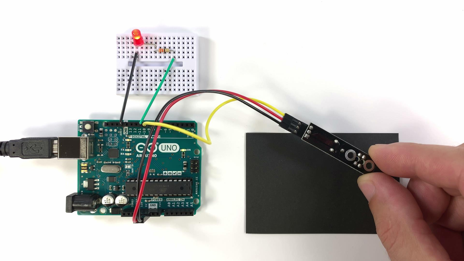 How to Use Obstacle Avoidance and IR Tracking Sensors on the Arduino