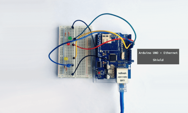 Control GPIO Pins With an Ethernet Connected Arduino Web Server