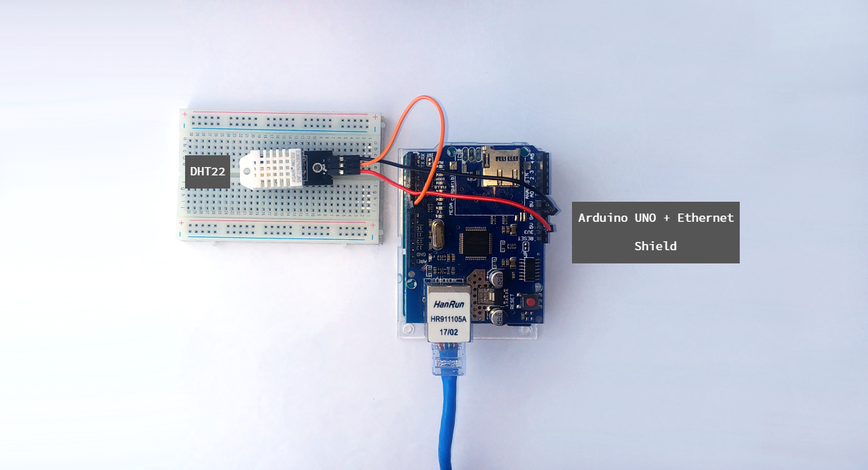 Display Sensor Data With an Ethernet Connected Arduino Web Server