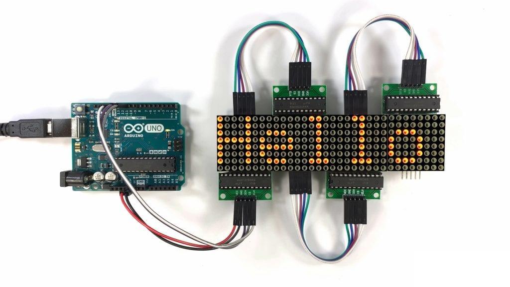 Four LED Matrix Scrolling Hello World.jpg