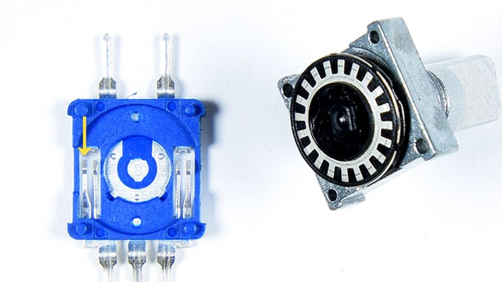 1 / 1 – How a Rotary Encoder Works - Clock Pin Arm.jpg