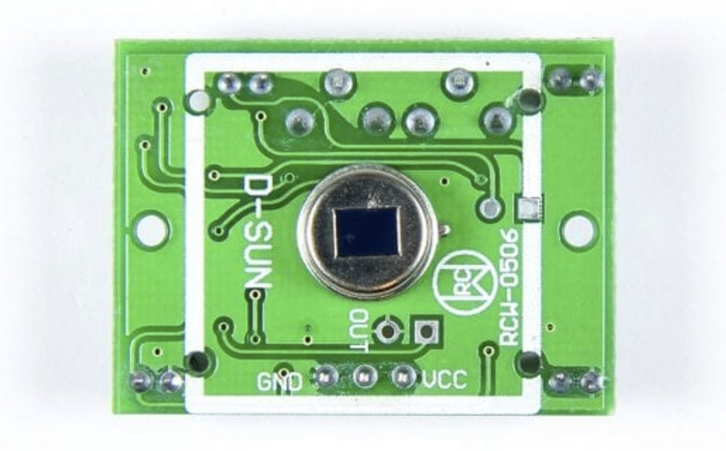 How to Setup Passive Infrared (PIR) Sensors on the Arduino - Infrared Sensing Element