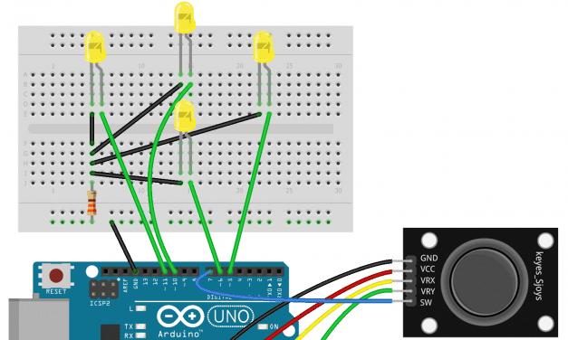 How to Setup PS2 Joysticks on the Arduino