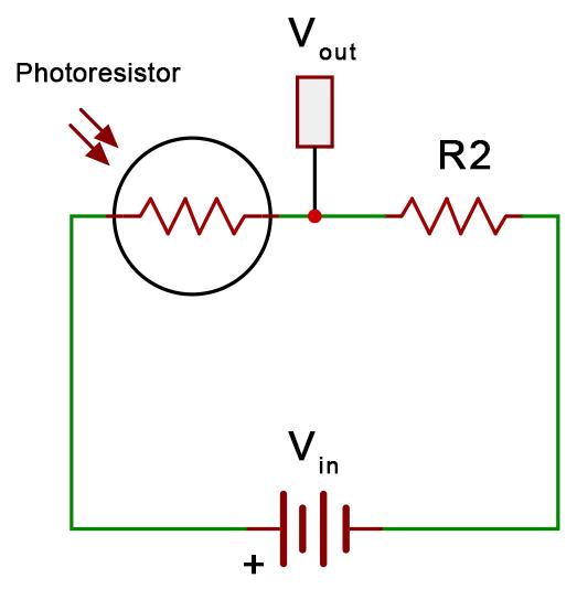Photoresistor Voltage Divider Schematic.png