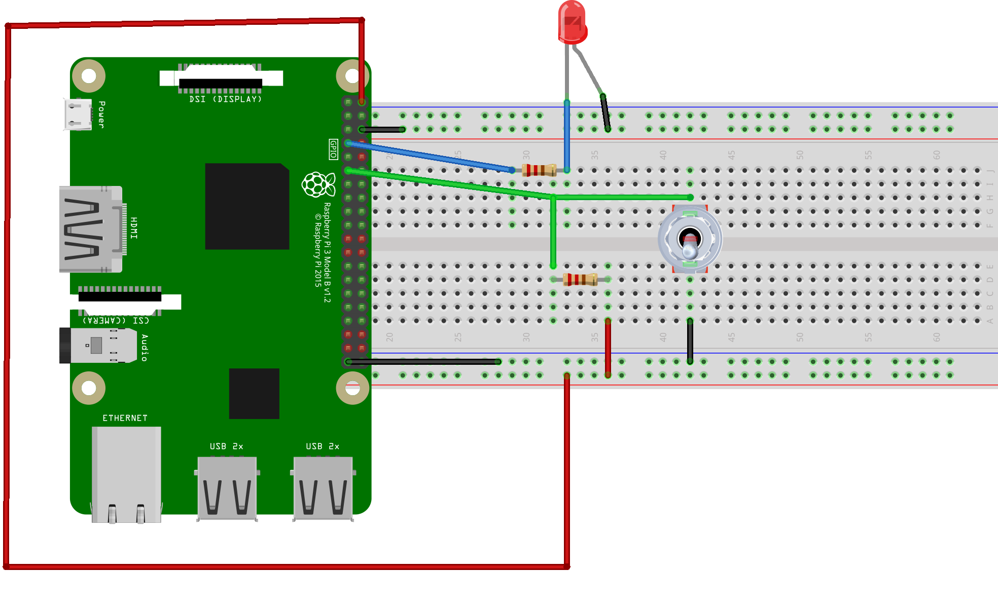 How To Set Up Buttons And Switches On The Raspberry Pi Circuit Basics