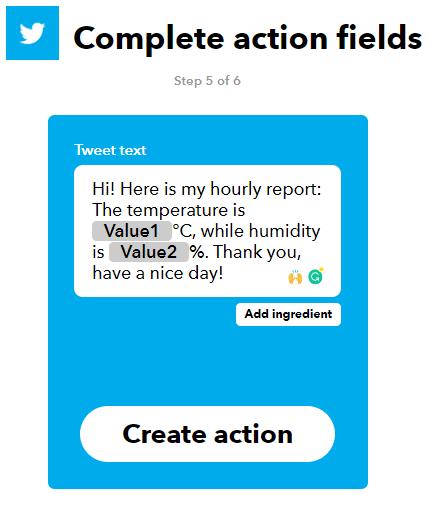 Como enviar tweets com um Arduino 12