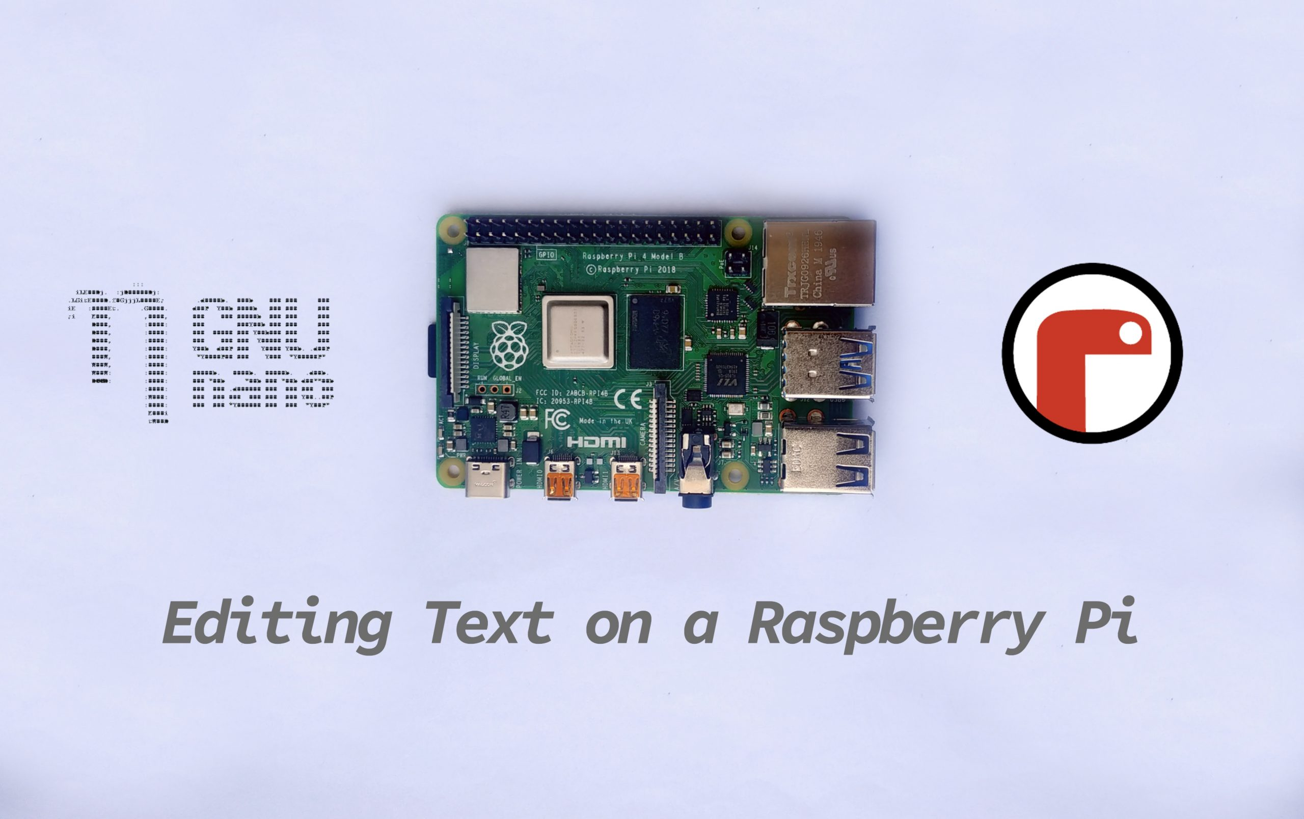How to Edit Text Files on a Raspberry Pi