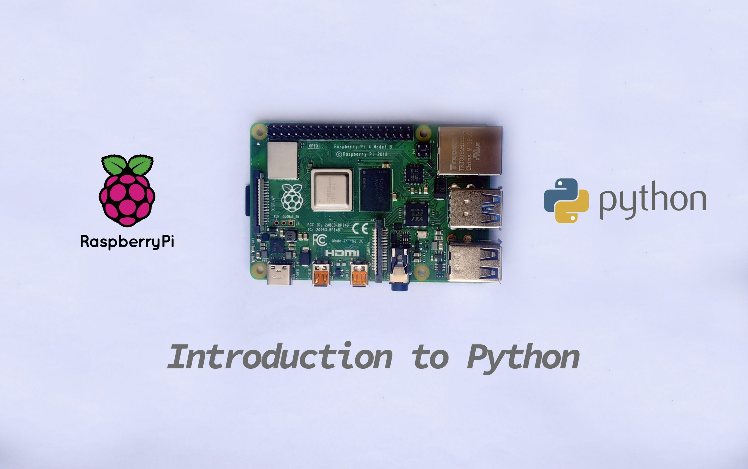 Introduction to the Python Programming Language