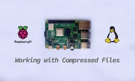 Working With Compressed Files on a Raspberry Pi