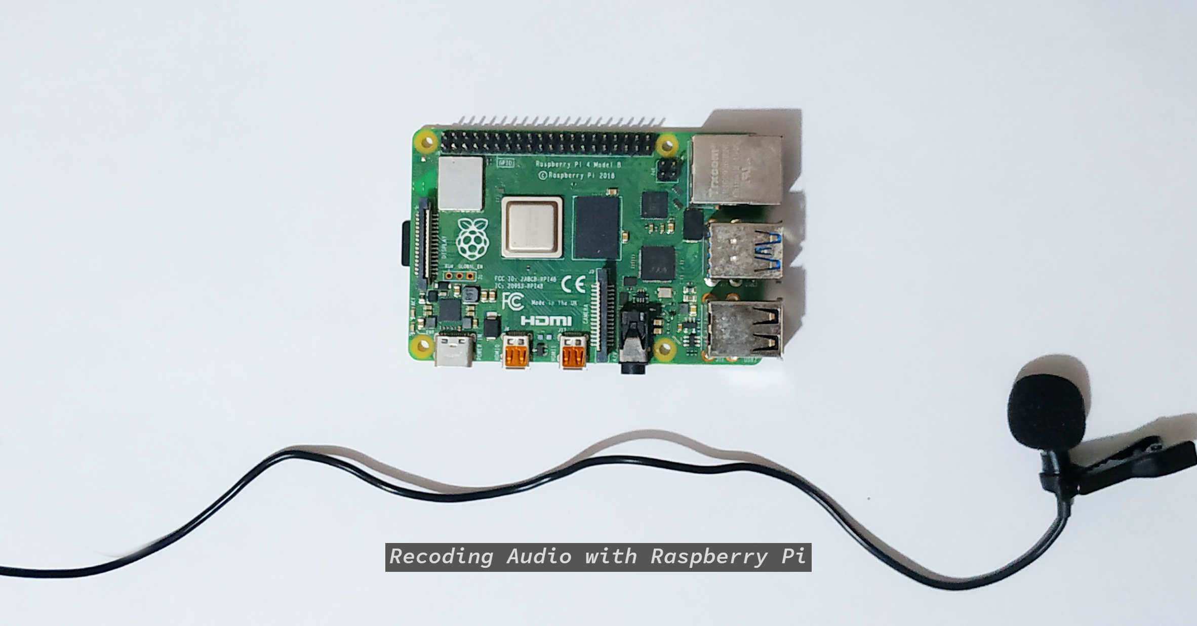 How to Record Audio With the Raspberry Pi