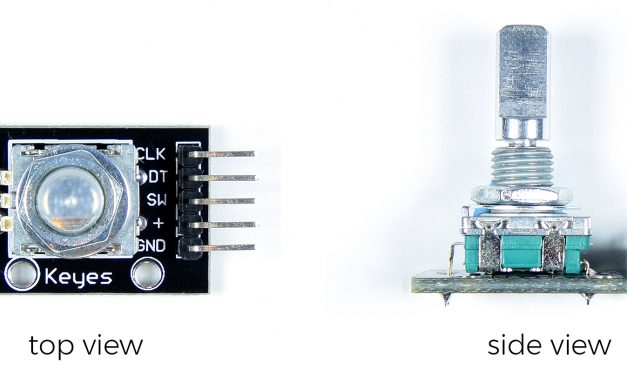 How to Setup and Program Rotary Encoders on the Arduino
